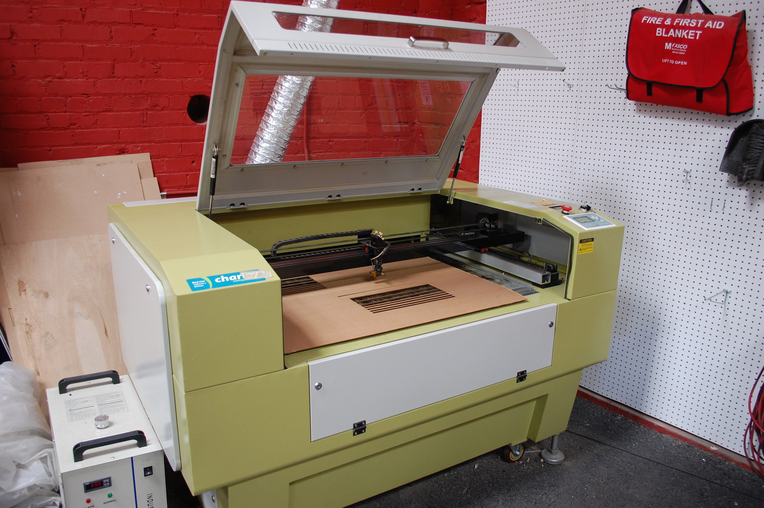 A cutter machine