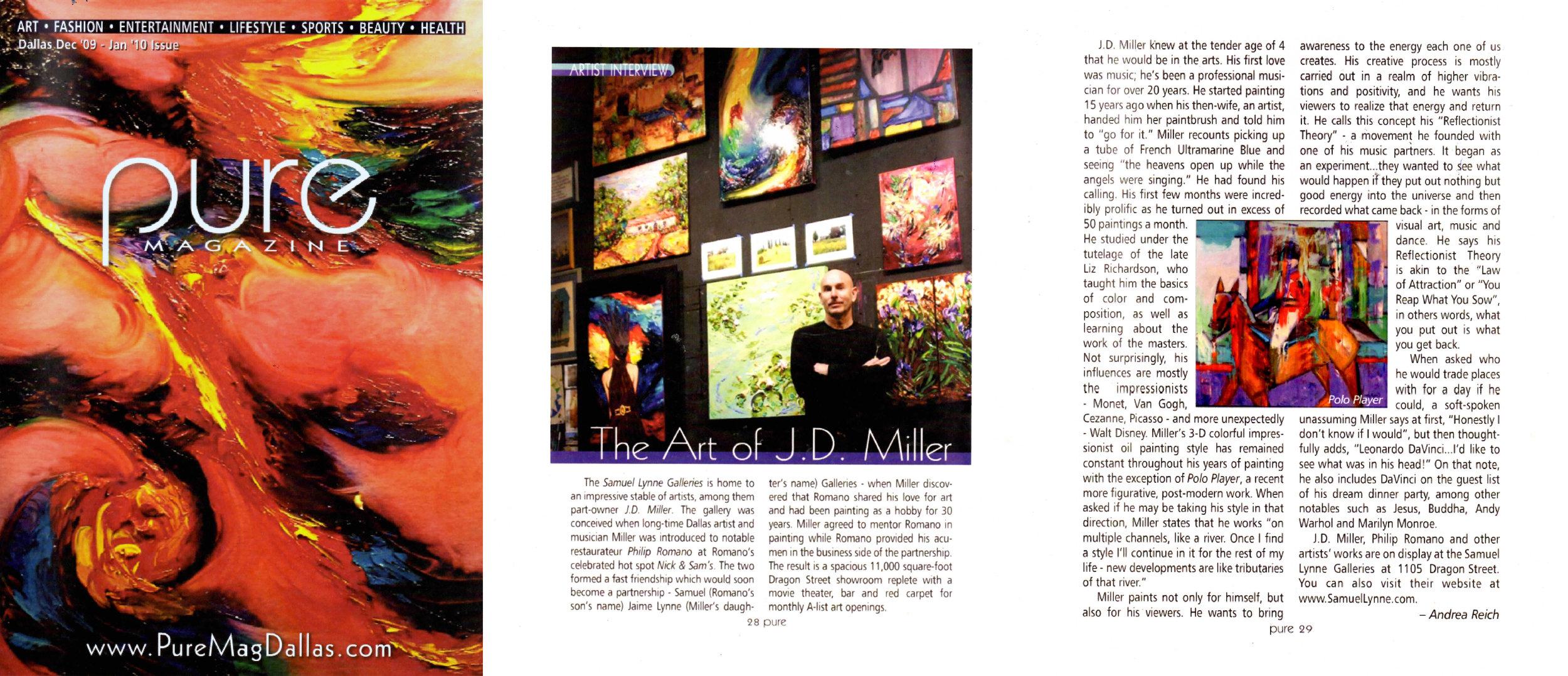 PURE MAGAZINE-Dec 2009-Jan 2010 - The Art of JD Miller.jpg