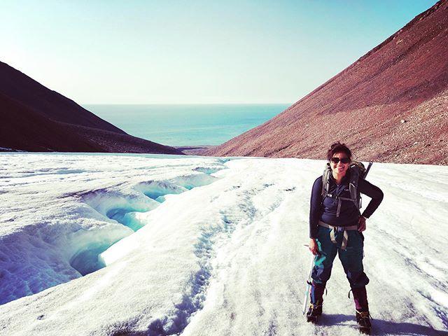 Grise Fiord Glacier walk