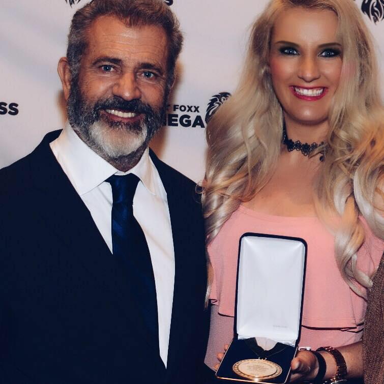 Mel Gibson & Erna Basson
