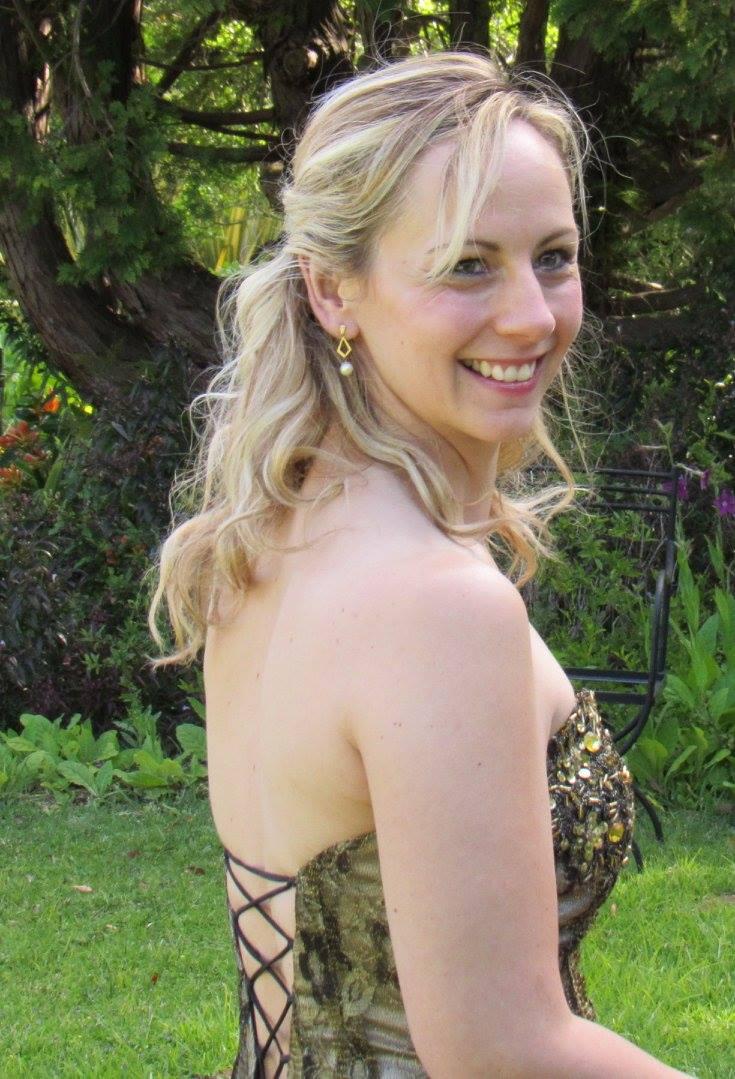 Chrissie De Villiers on her Wedding Day