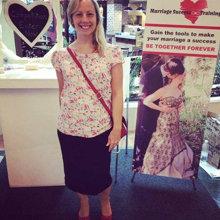 Chrissie De Villiers at the Canal Walk Wedding Show