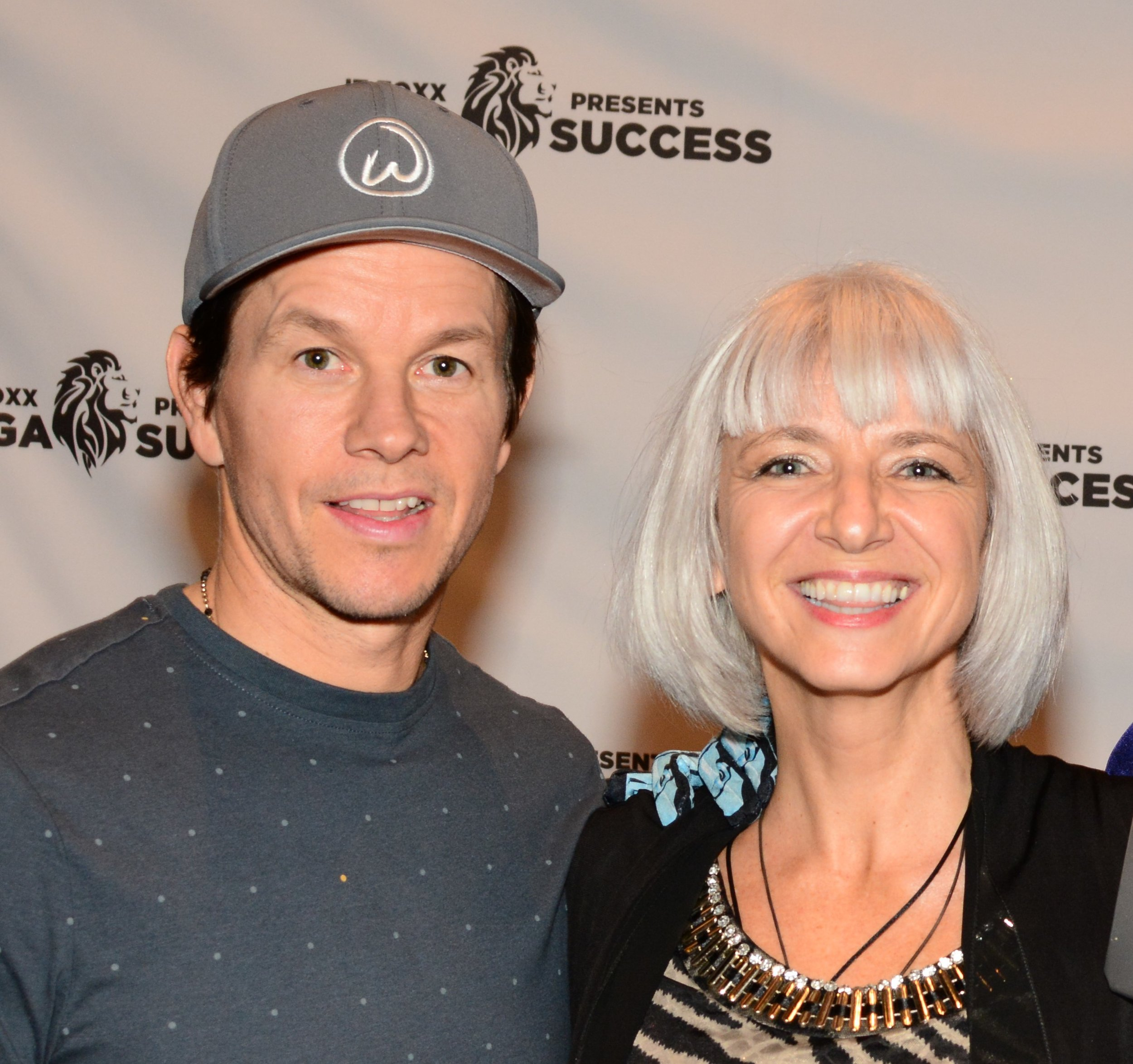 Stéphanie Rottet and Mark Wahlberg