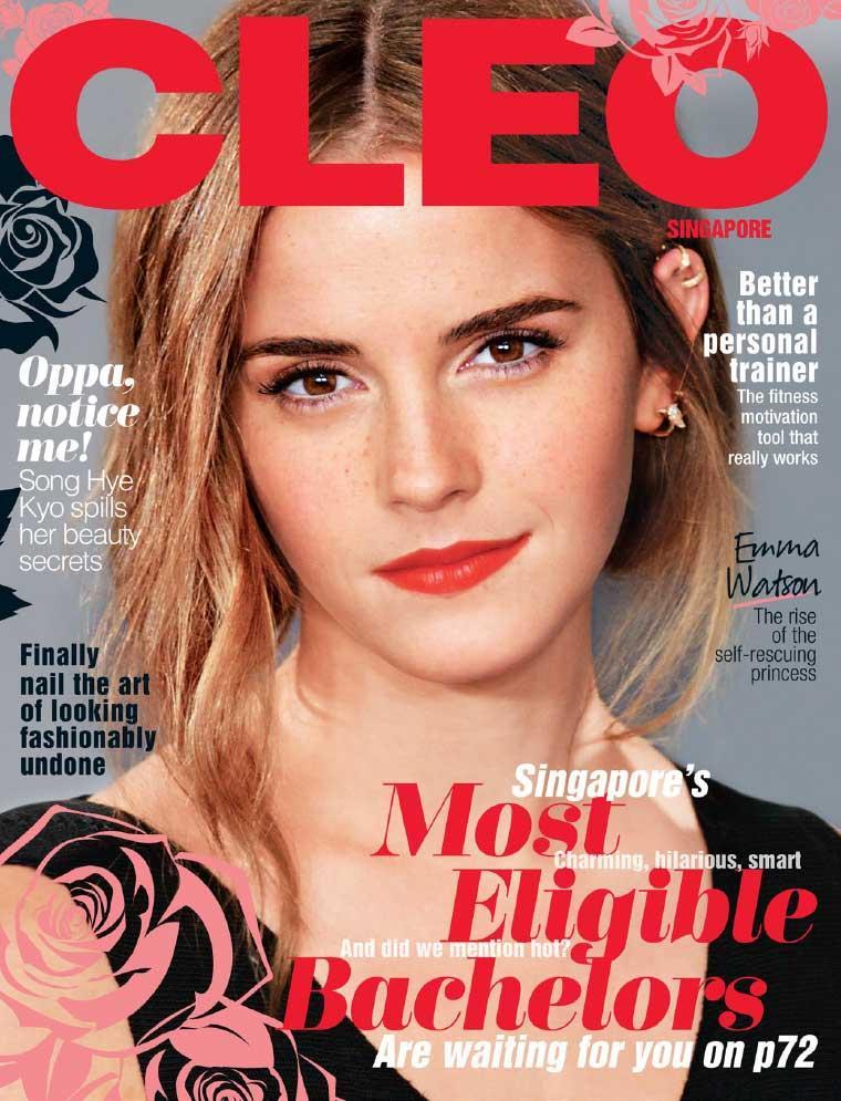 Emi Golding Featured in Cleo Magazine