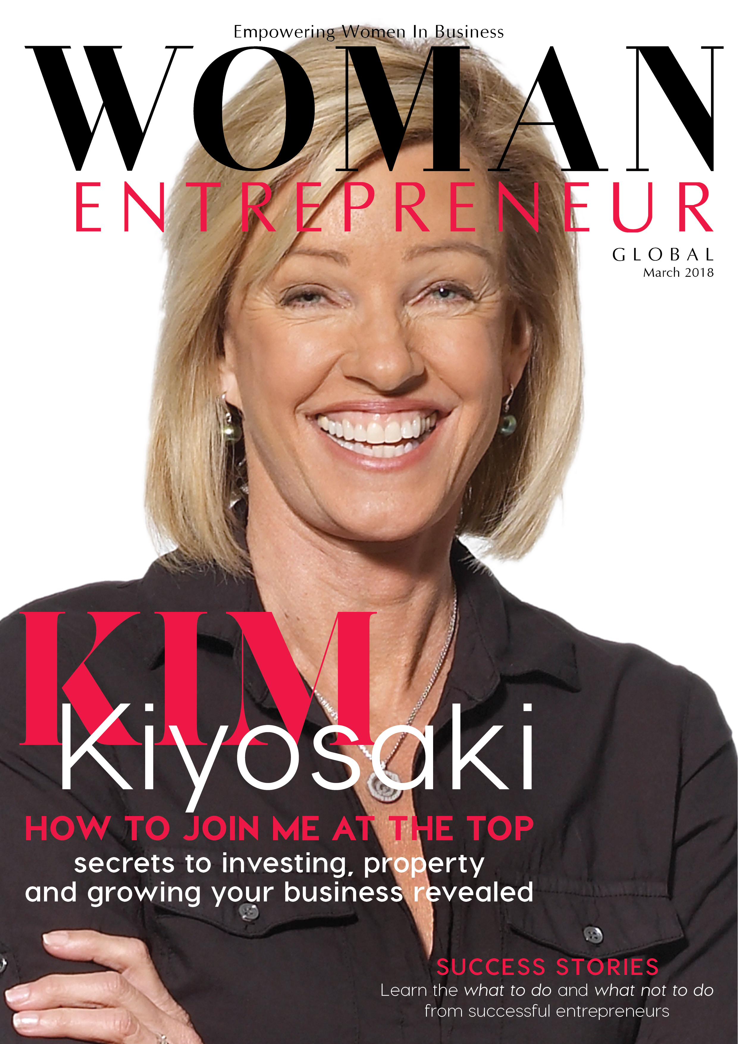 Kim Kiyosaki on Woman Entrepreneur Magazine Cover.jpg