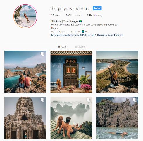 thegingerwanderlust on Instagram