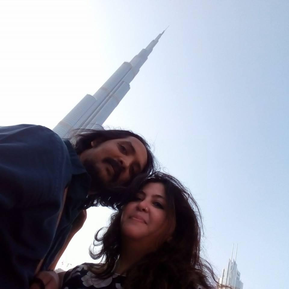 Amir Abbasi & Raika Gazder (left to right)