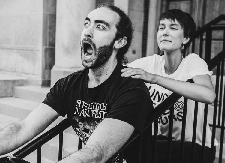 Adela Skowronski & Dan Dick   Hosts of   The Underbelly Hours