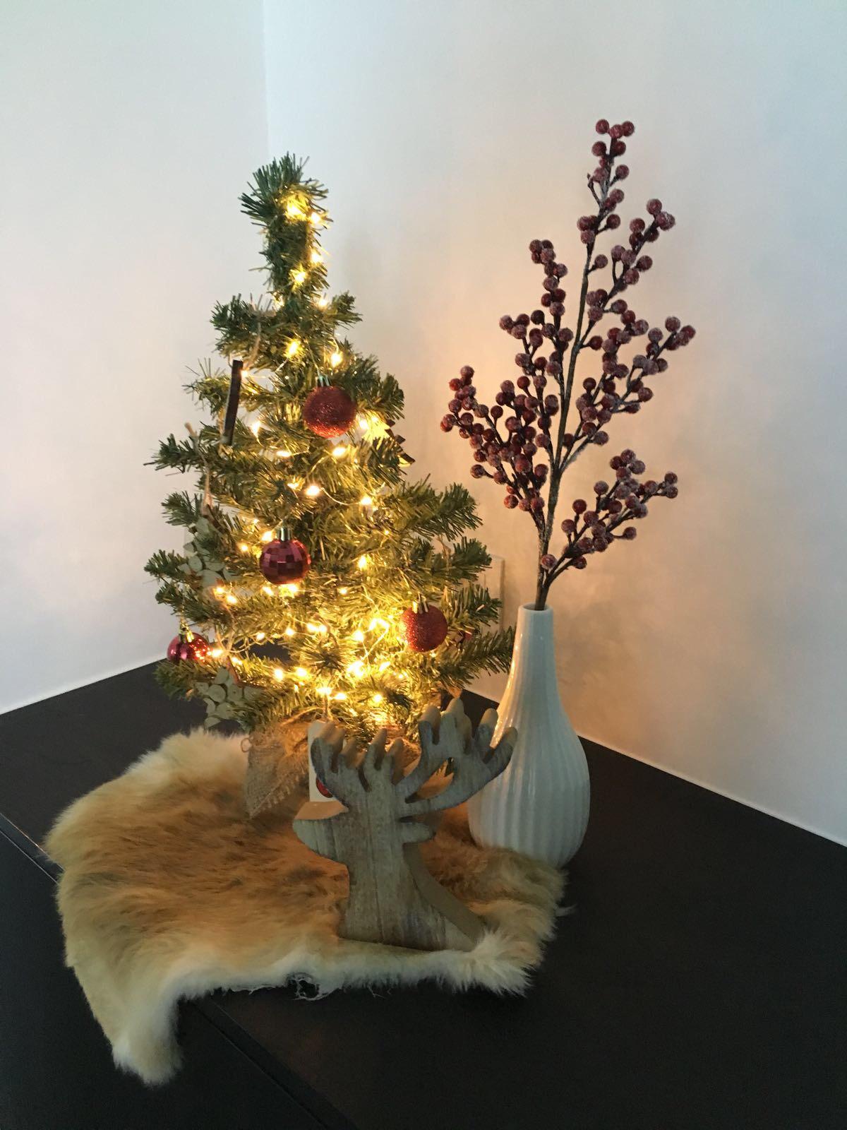 Kerststyling bureau Axel Lenaerts Makelaars Waasland