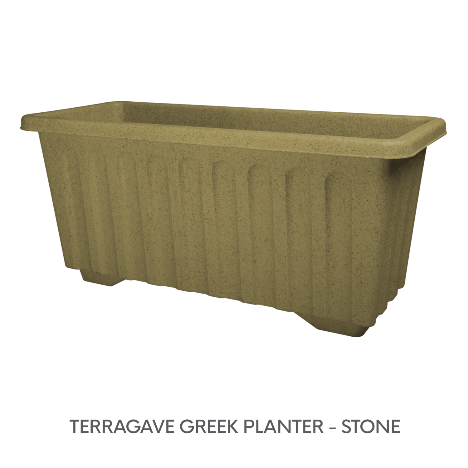4 TERRAGAVE GREEK PLANTER - STONE.png