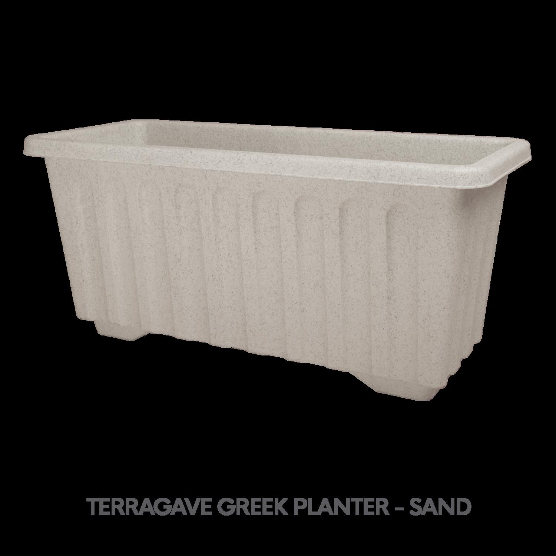 3 TERRAGAVE GREEK PLANTER - SAND.png