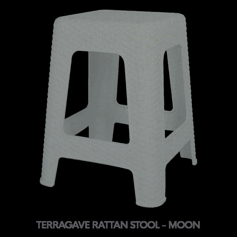 5 TERRAGAVE RATTAN STOOL - MOON.png