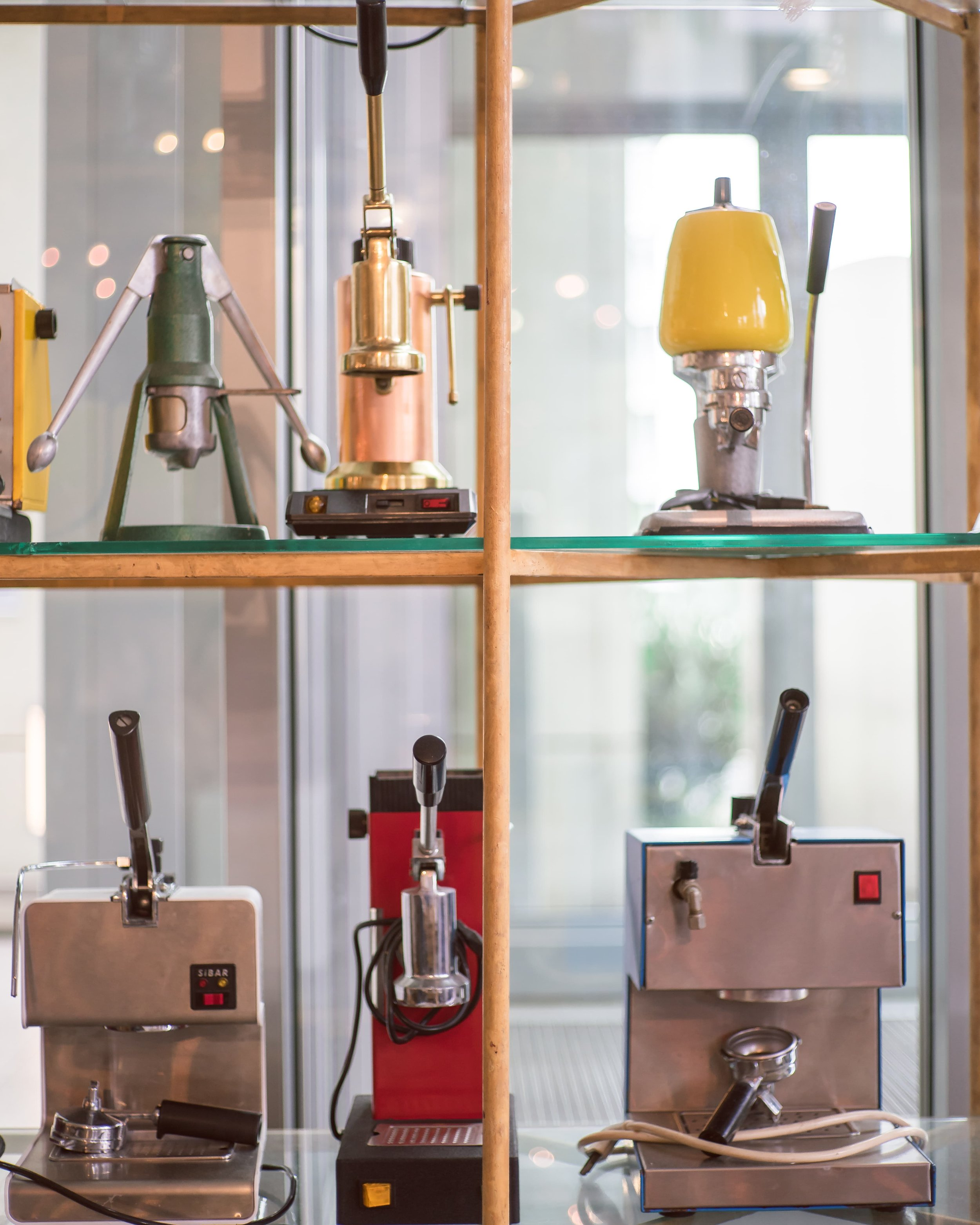 Dritan's collection of coffee machines