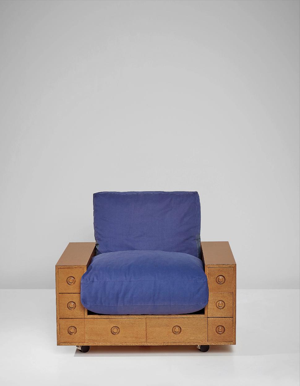 SHIRO KURAMATA Armchair, from the 'Furniture with Drawers' series