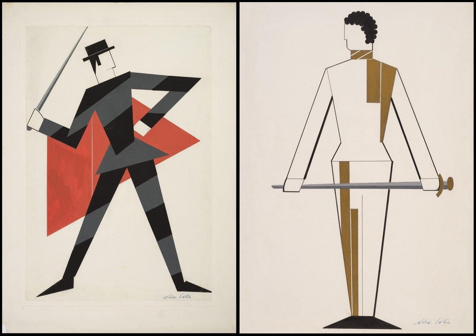 alexandra_exter_Othello - costume design - (Swordsmen) by A Exter, 1927.jpg