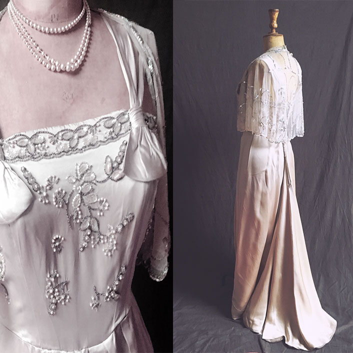 Vintage Bride - Choose a dress entirely unique with our range of breathtaking vintage wedding gowns