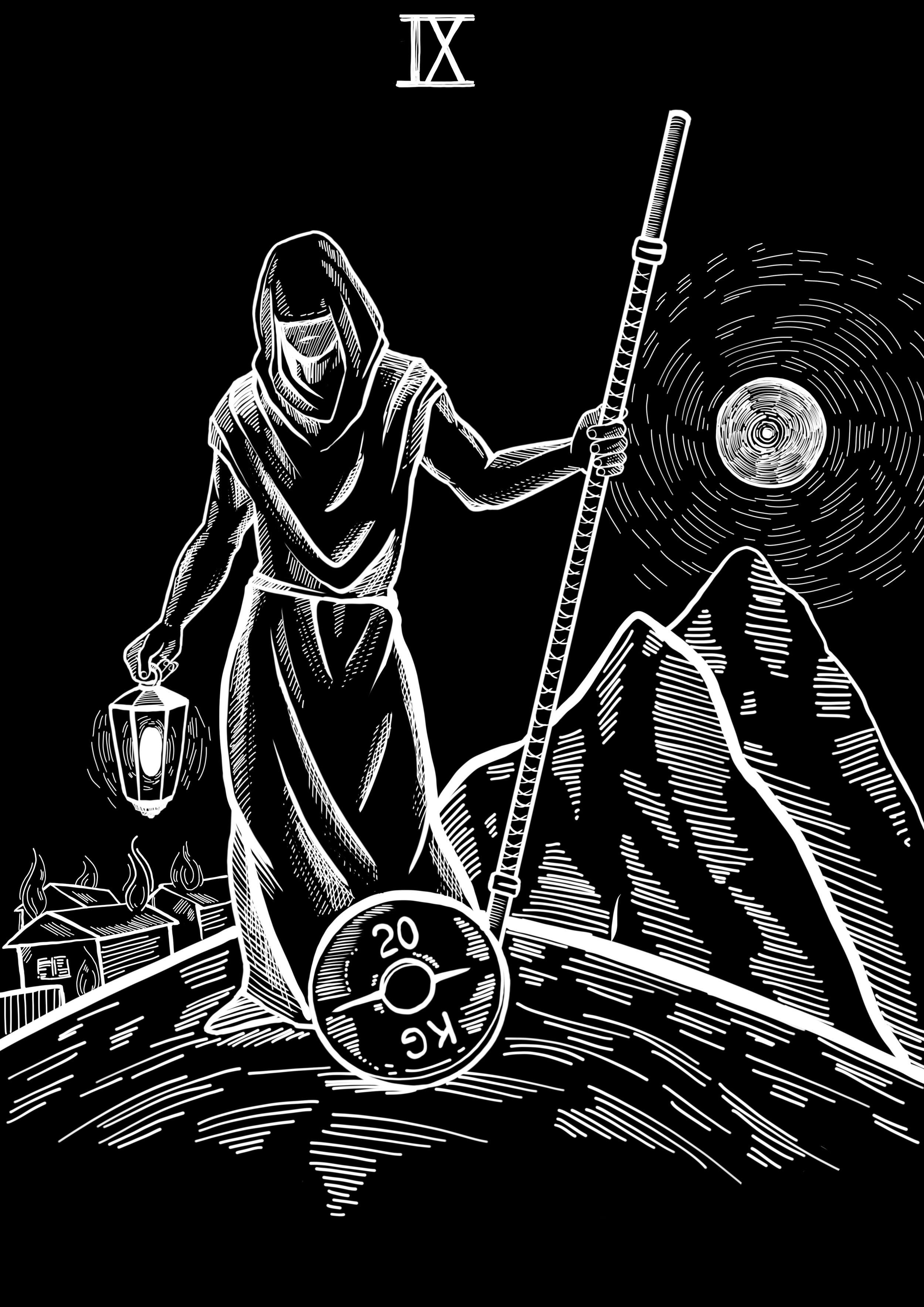 9-The-Hermit