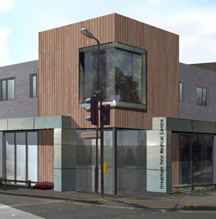 Streatham Vale Surgery - Streatham Vale doctor's surgery was a complete new build property project.