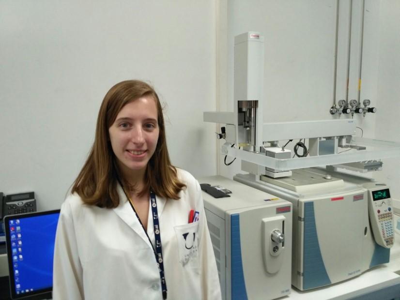 Sara Fernández-Palacios Campos.  Source: Fundación Descubre