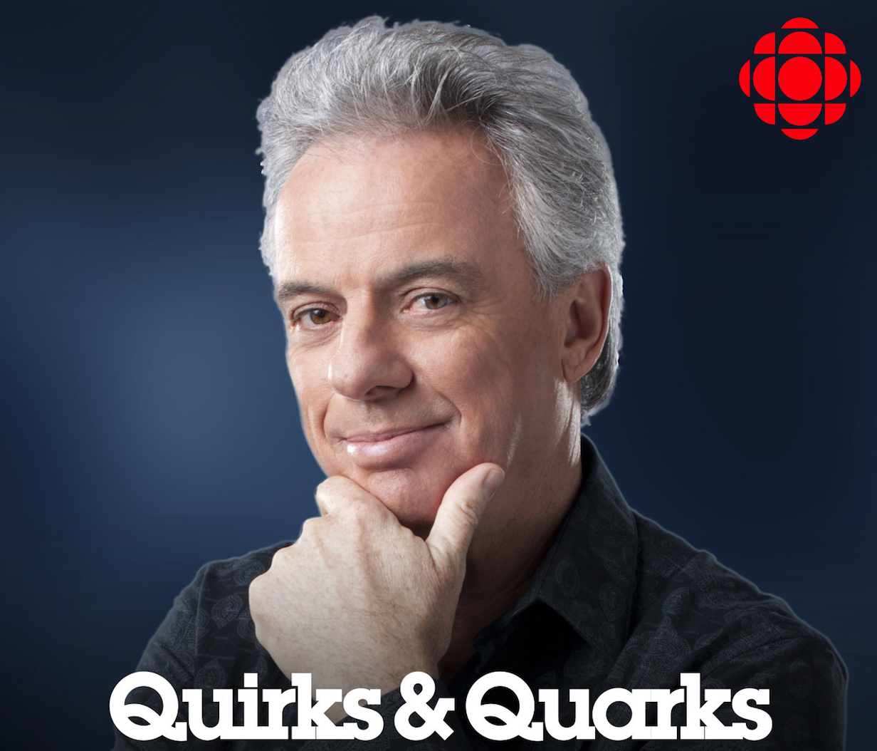 Guest host of Canada's national science radio show.