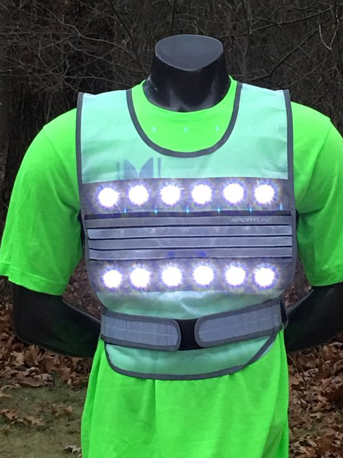 LED Flash Vest