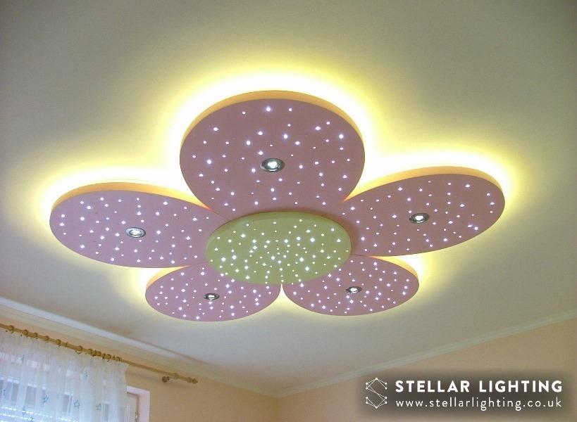 Floral DESIGN LED STAR CEILING