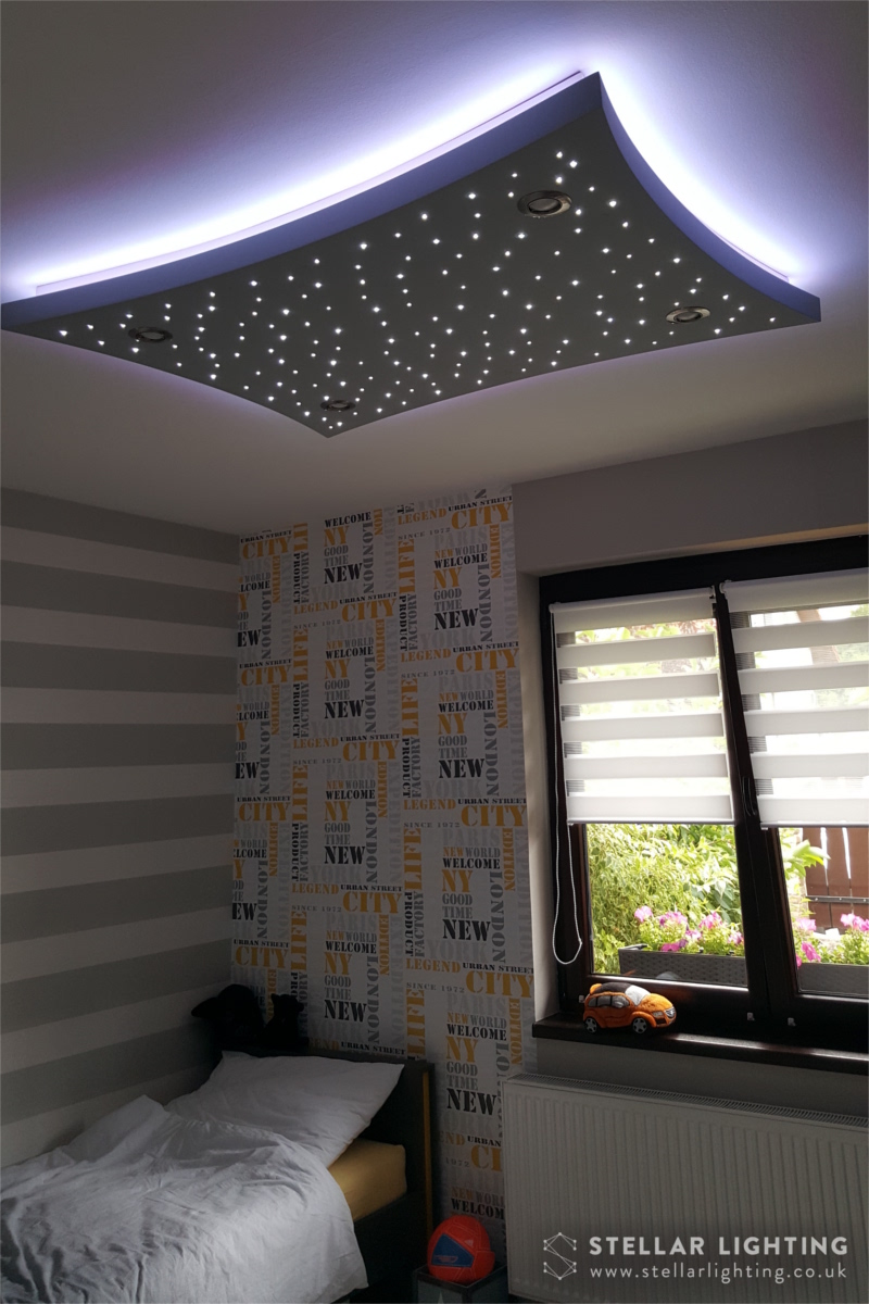 Concave Rectangle LED STAR CEILING