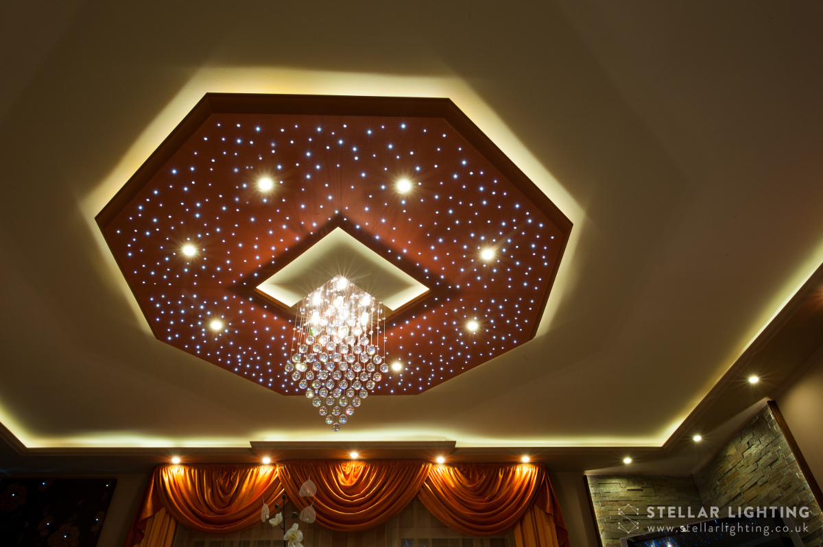 Classical Octagon star ceiling