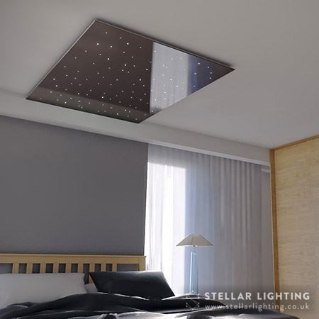 Star ceiling gloss finish - black