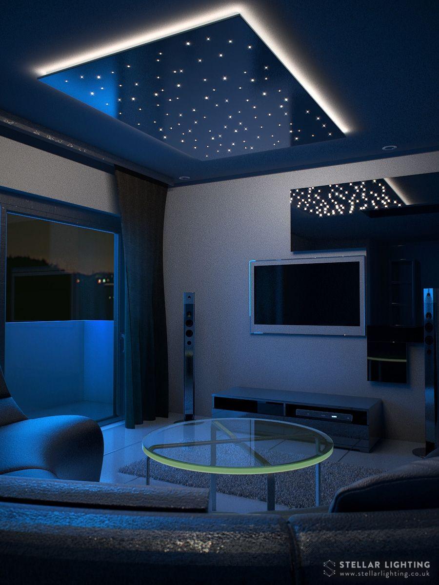 Fibre Optic Star Ceiling Easy
