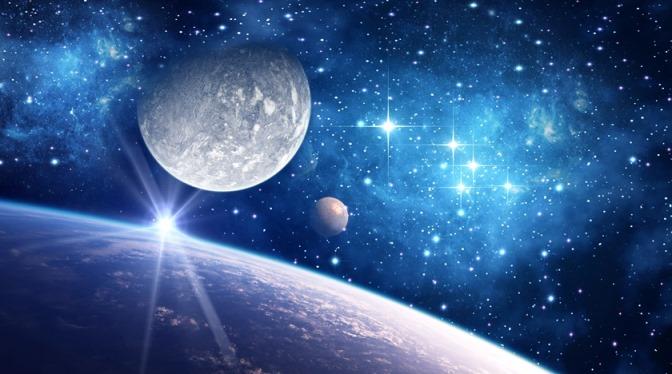 Moonrise galaxy star ceiling
