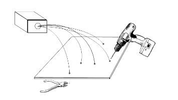 Fibre optic lighting kit fitting diagram