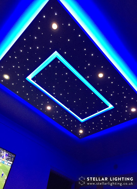 Oblong Glow LED STAR CEILING