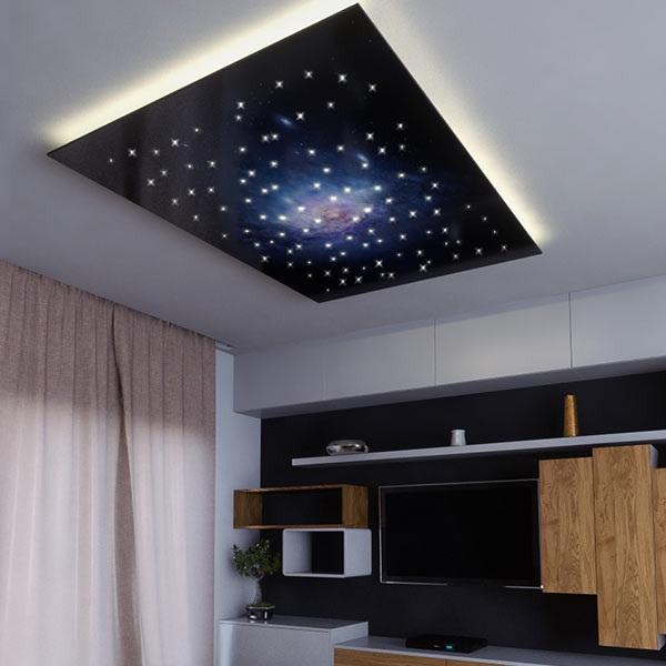 Vast Universe design fibre optic star ceiling