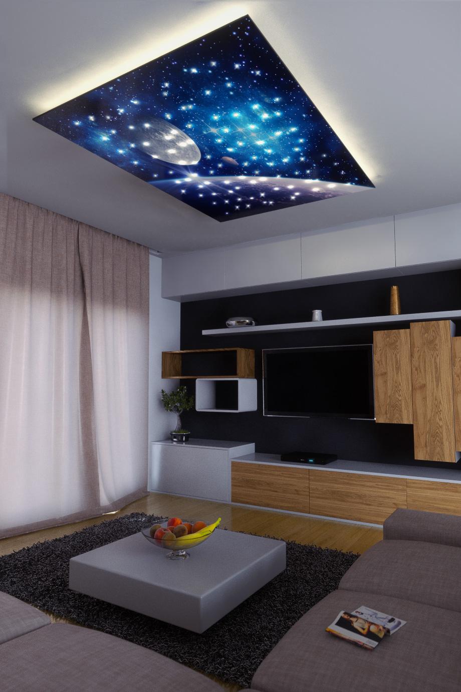 Fibre Optic Star Ceiling Easy Installation Stellar Lighting