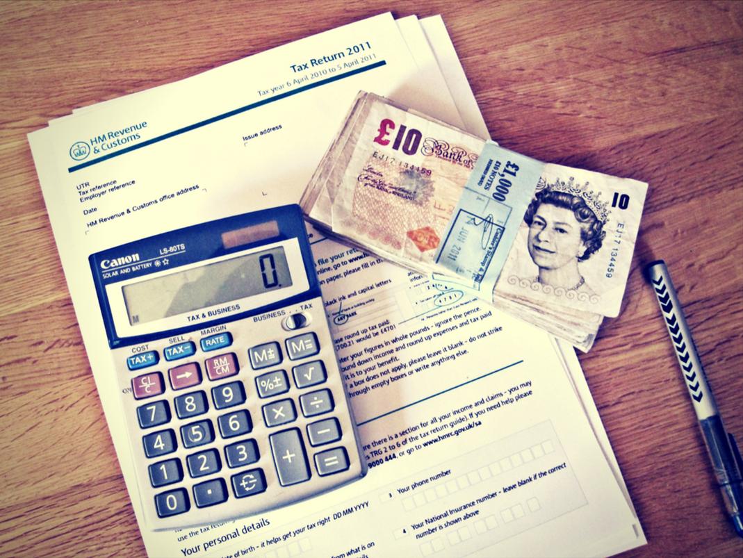 self assessment tax HMRC info