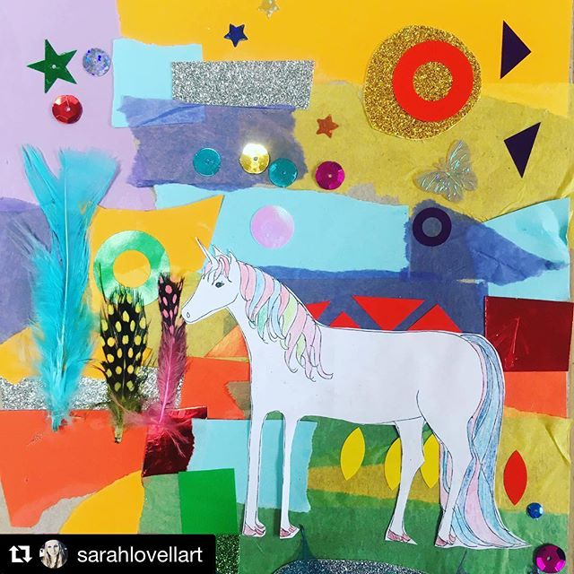 A great post by my client Sarah @sarahlovellart showing how you can create a lovely collage with the little ones (or just by yourself!) . . . #clientlove #client #creativebyproxy #smallbusinesslove #mumtrepreneur #mumsinbusiness #businessmum . . . #Repost @sarahlovellart with @get_repost ・・・ Today is an exciting day! I have teamed up with @eventualmother for an #unpluggedparents challenge . Today is all about art . I have posted a video to guide you through how to make your very own magical creature collage (like the one above ) with your children . @eventualmother has downloadable pictures to colour on her Facebook page . You can also win one of my illustrated alphabet prints . Hope you enjoy it . More details with @eventualmother 👍good luck x . . #sarahlovellart #collage #artday #unpluggedparents #eventualmother #giveaway #unicorn #collage #art #artwithchildren #artwithkids #mumlife #iloveart #makingart #collage #magicalcreatures