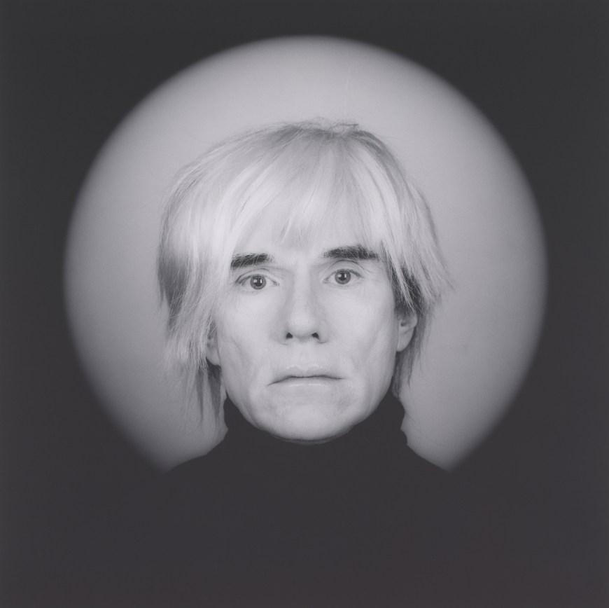 'Andy Warhol'by Robert Mapplethorpe