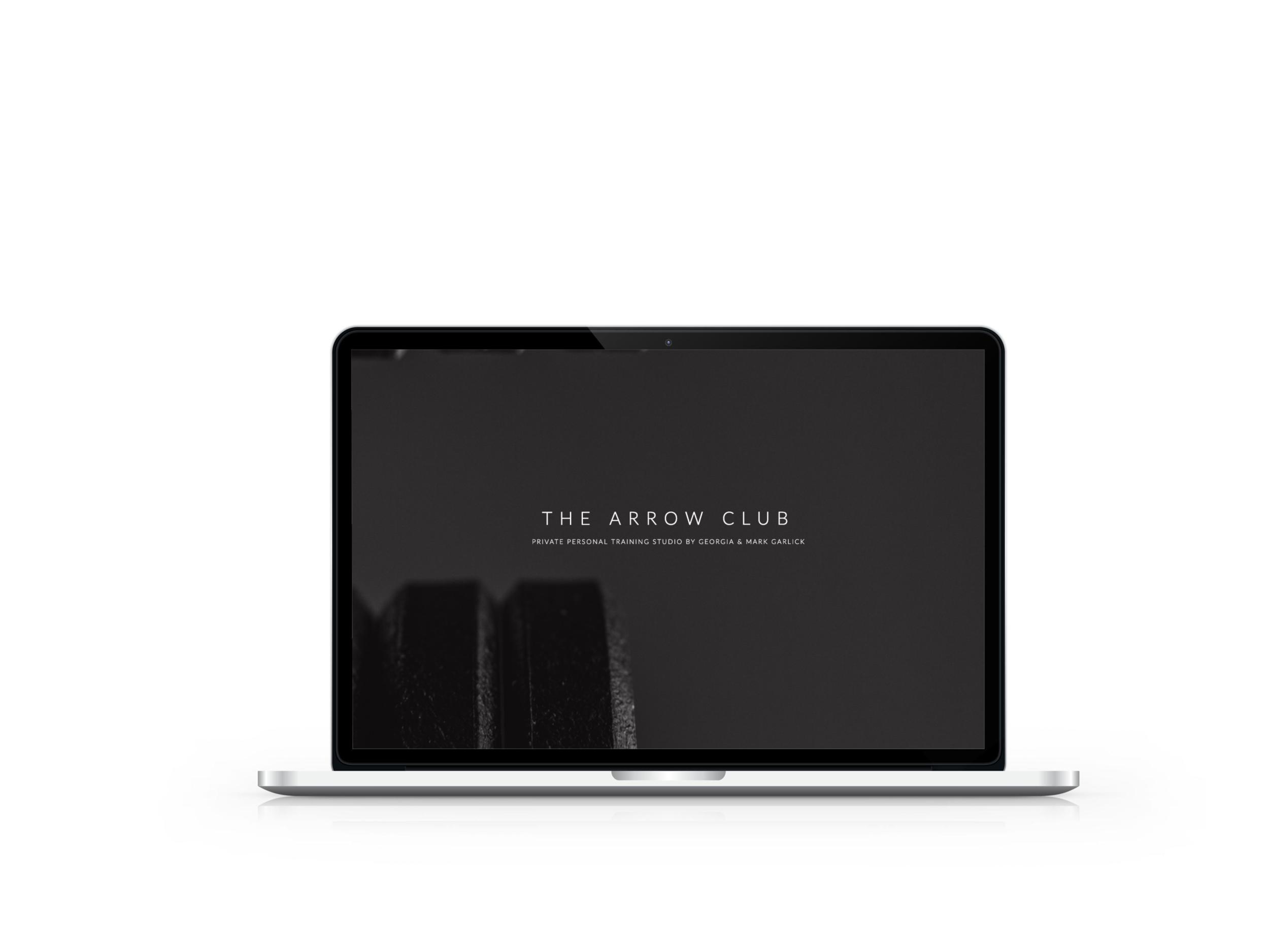 The Arrow Club Website Design
