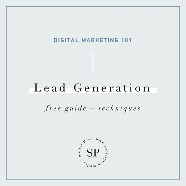 Did you know? Only 10% of your potential customers or leads are likely to convert into a customer ◾️ Read our guide on how to best optimize your lead generation strategy in 2019. Link in our bio ✨ • • • • #marketing #branding #socialmedia #business #marketingdigital #entrepreneur #startup #digitalmarketing #advertising #entrepreneurship #socialmediamarketing #sales #onlinemarketing #success #empreendedorismo #smallbusiness #marketingtips #seo #networking #hustle #startuplife #businesswoman #entrepreneurs #successquotes #publicidad #startups #brand #businessman #onlinebusiness #contentmarketing