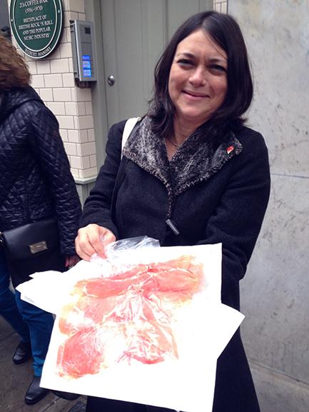 Jenny Linford at Soho Gastro tour