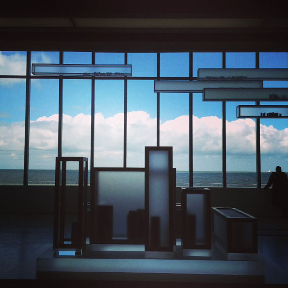 Edmund de Waal installation at Turner Contemporary