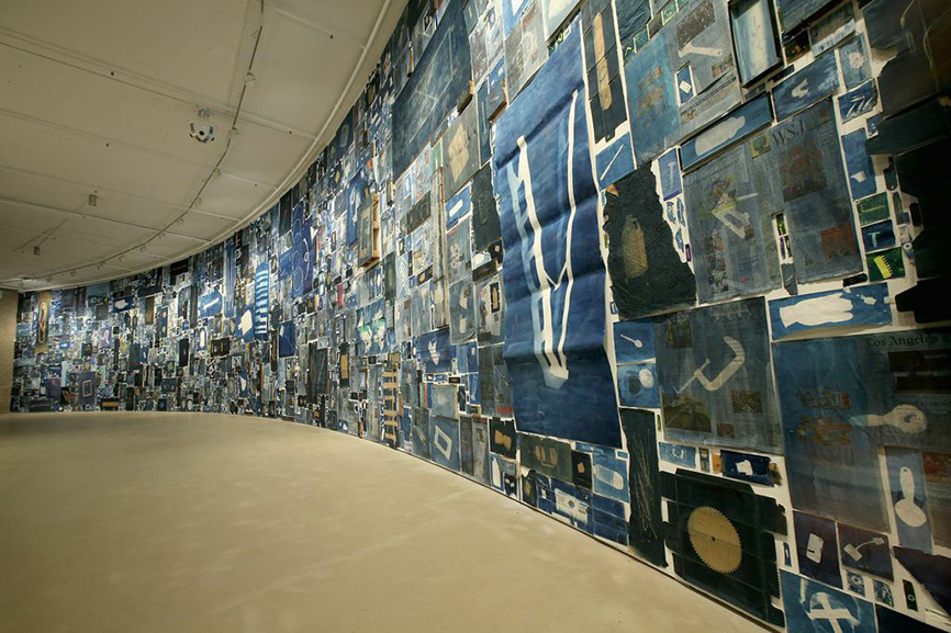 Walead Beshty. Installation images. The Curve, Barbican Centre. 9 October 2014 – 8 February 2015 © Chris Jackson / Getty Images