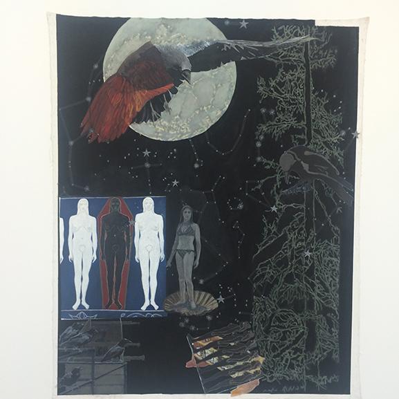 Jo Baer, Memorial for an Art World Body (Nevermore) 2009