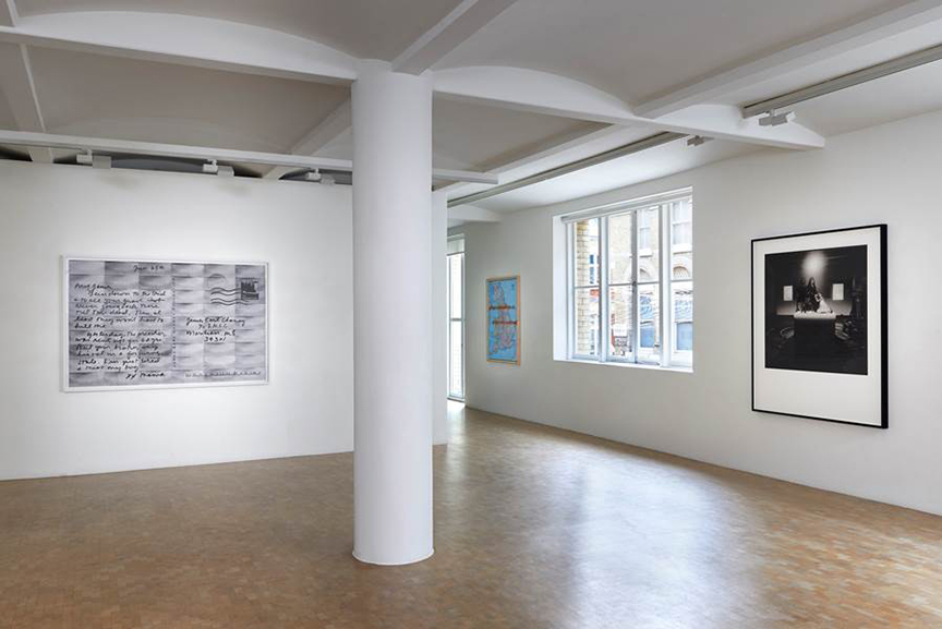 Installation view: A Voice Remains, Courtesy Pippy Houldsworth Gallery, London