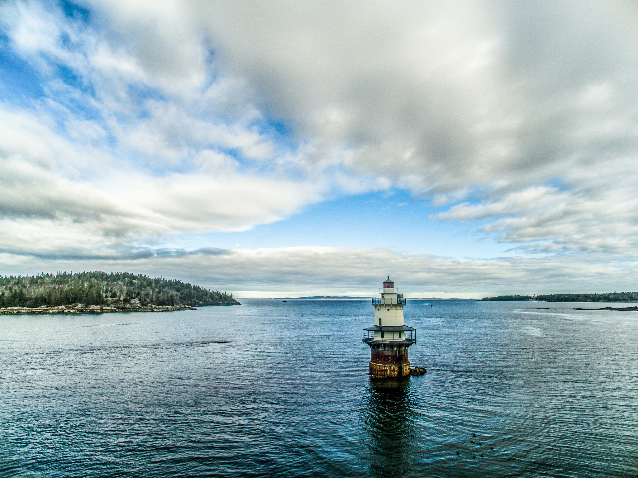 Goose Rocks Lighthouse, 2015 – Photo by Bill Trevaskis