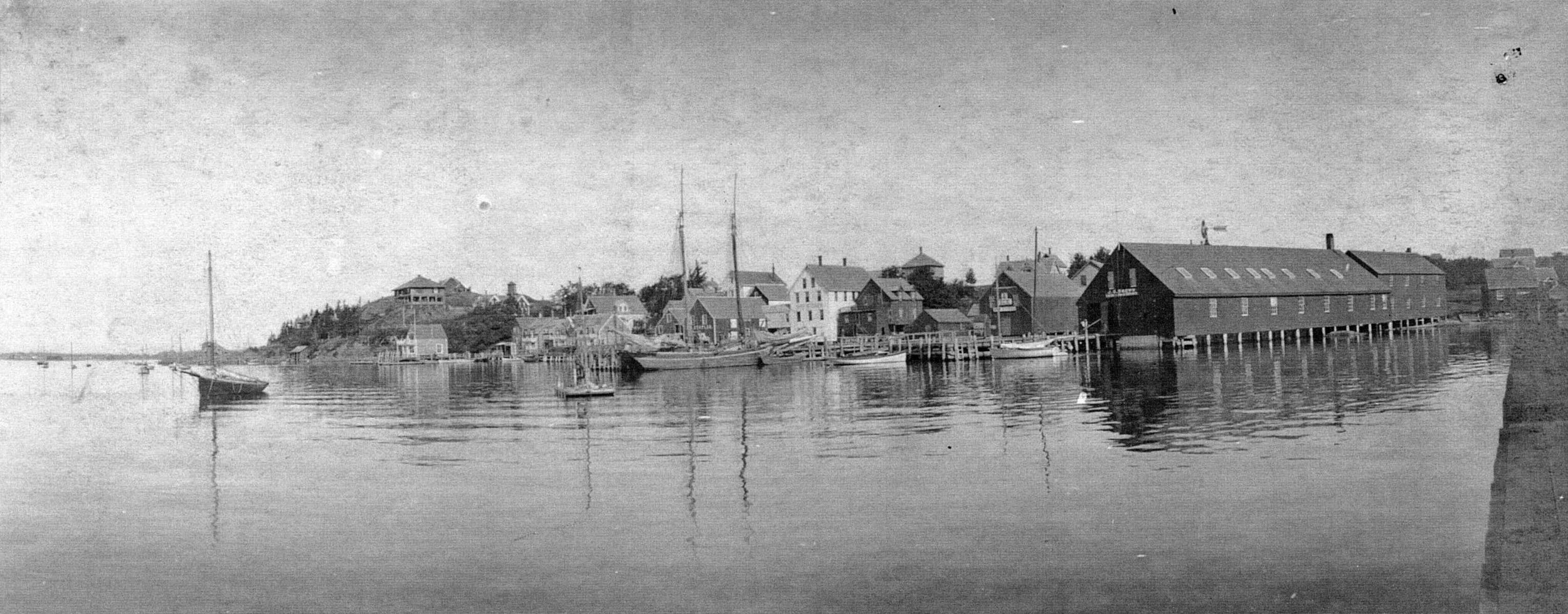 North Haven Town Waterfront, 1904