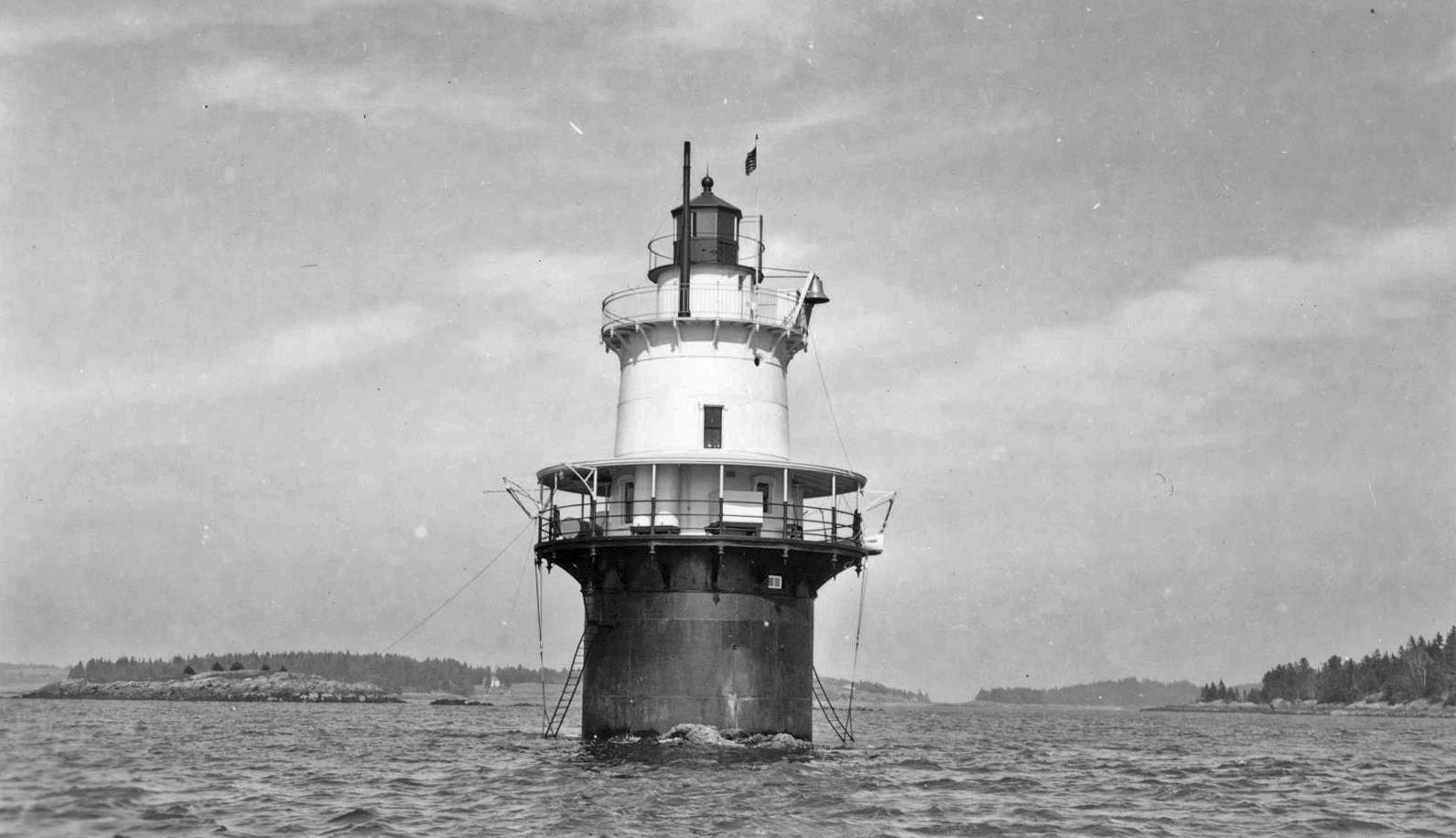 Goose Rocks Lighthouse, built in 1890