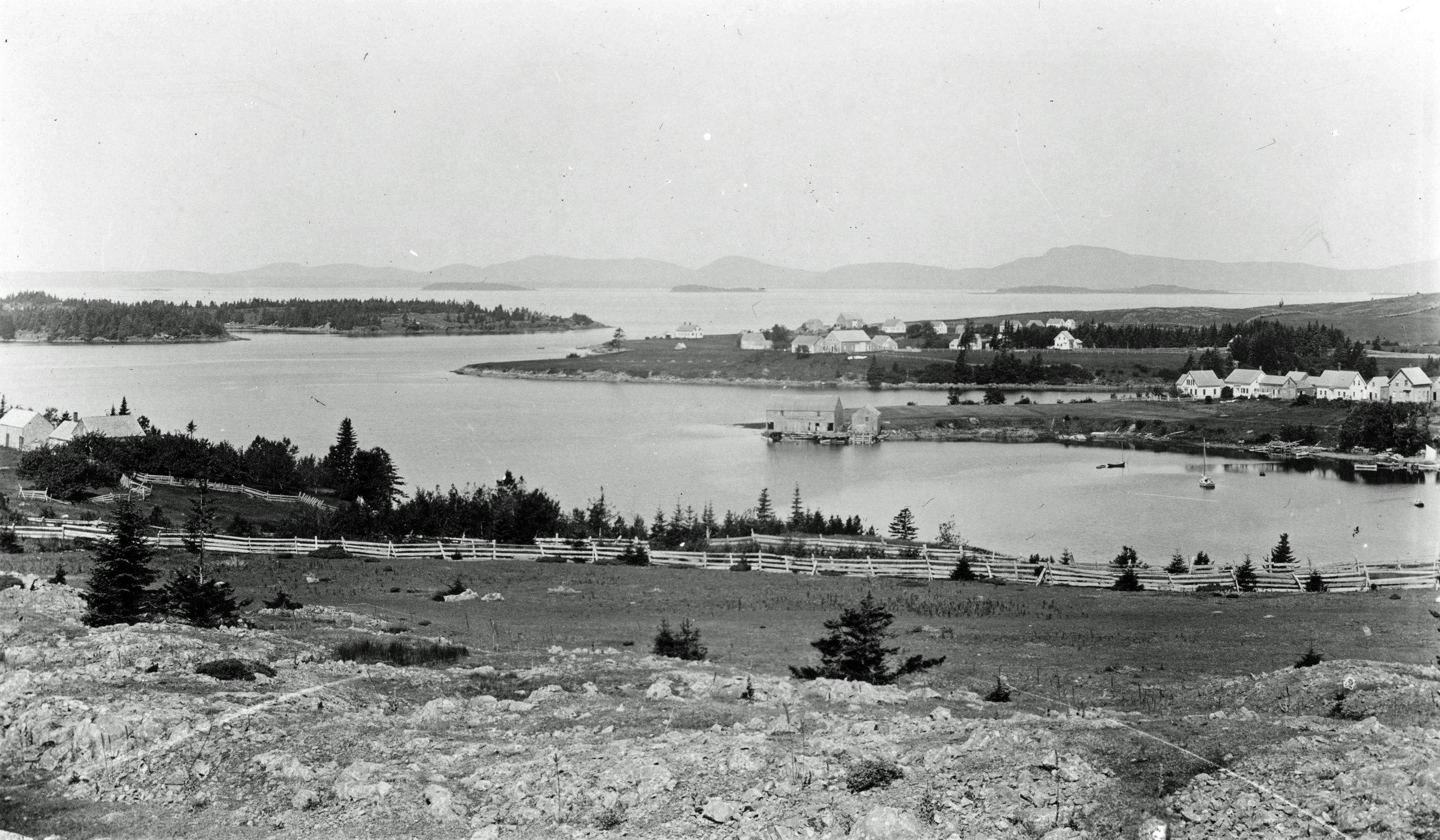 Pulpit Harbor Village, late-1800s