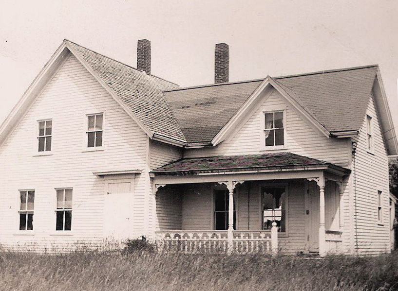 The Cooper family homestead, until they moved downtown in the early-1960s